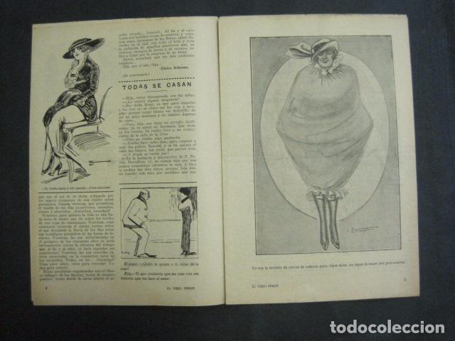 Libros antiguos: EL VIEJO VERDE - CRONICA MUNDANA - NUM. 20 - NOVIEMBRE 1914 - MADRID -VER FOTOS-(V- 11.638) - Foto 3 - 89849664