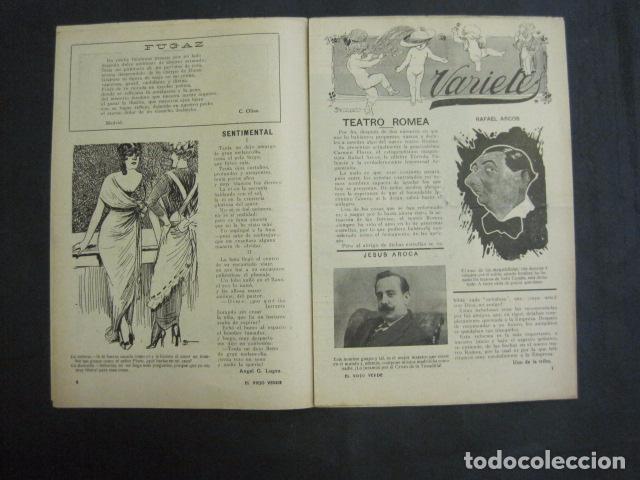 Libros antiguos: EL VIEJO VERDE - CRONICA MUNDANA - NUM. 20 - NOVIEMBRE 1914 - MADRID -VER FOTOS-(V- 11.638) - Foto 4 - 89849664