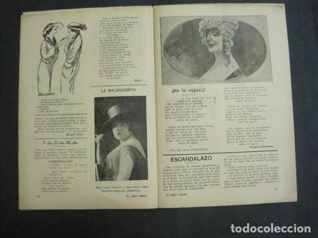Libros antiguos: EL VIEJO VERDE - CRONICA MUNDANA - NUM. 20 - NOVIEMBRE 1914 - MADRID -VER FOTOS-(V- 11.638) - Foto 7 - 89849664