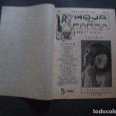 Libros antiguos: REVISTA EROTICA - HOJA DE PARRA - MADRID DICIEMBRE 1911 - NUM . 32 -VER FOTOS - (V- 11.891). Lote 97309787