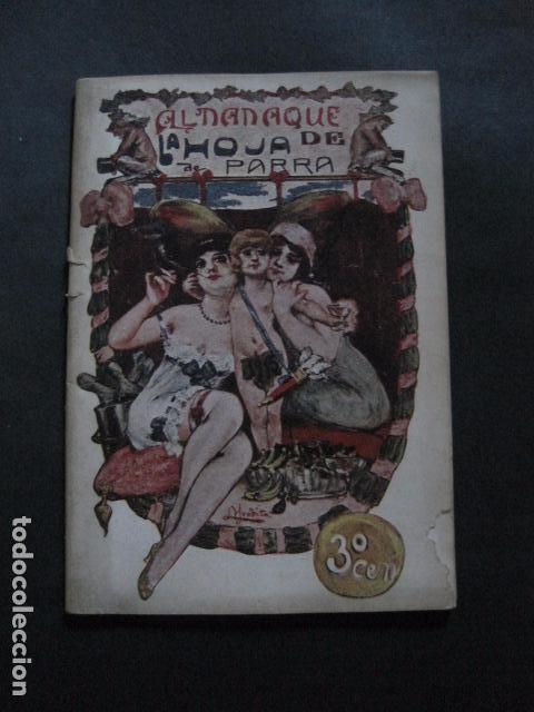 ALMANAQUE REVISTA EROTICA - HOJA DE PARRA - AÑO 1915 -VER FOTOS - (V- 11.892) (Libros antiguos (hasta 1936), raros y curiosos - Literatura - Narrativa - Erótica)