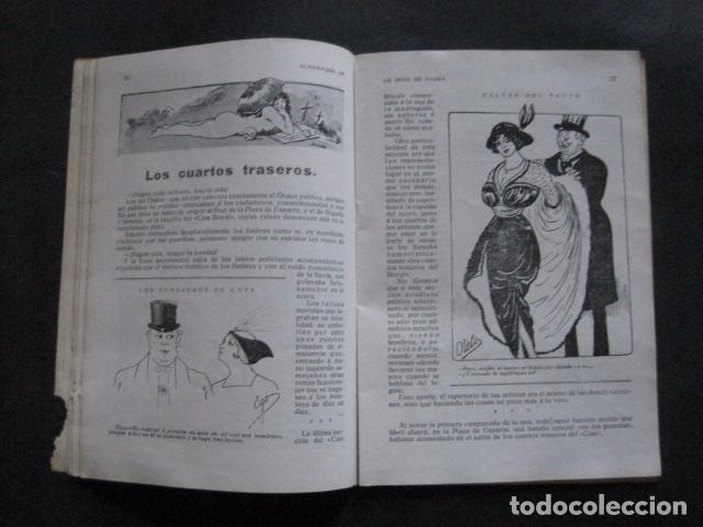 Libros antiguos: ALMANAQUE REVISTA EROTICA - HOJA DE PARRA - AÑO 1915 -VER FOTOS - (V- 11.892) - Foto 5 - 97310035