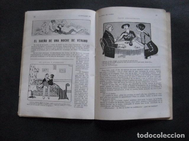 Libros antiguos: ALMANAQUE REVISTA EROTICA - HOJA DE PARRA - AÑO 1915 -VER FOTOS - (V- 11.892) - Foto 7 - 97310035