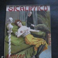 Libros antiguos: SICALIPTICO REVISTA EROTICA - NUMERO EXTRAORDINARIO-BARCELONA - AÑO 1904 -VER FOTOS - (V- 11.893). Lote 97310307