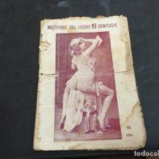Libros antiguos: MISTERIOS DEL LECHO NO CONYUGAL. NOVELA EROTICA (COIB123). Lote 102092923