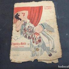 Libros antiguos: EL MANTON DE MANILA. LA NOVELA GALANTE Nº 127 ?. NOVELA EROTICA (COI49). Lote 105870424