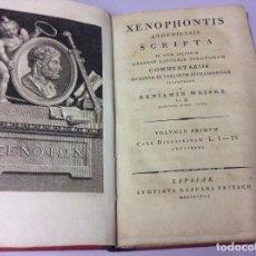 Libros antiguos: XENOPHONTIS (D. XENOPHON) ATHENENSIS SCRIPTA EM USUM LECTORUM ... 1798 - 1802, 5 VOLUMES, RARO. Lote 102148583