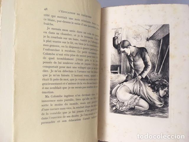 DE LAURIS : L´EDUCATION DE CHERUBIN. (CON 12 GRABAD DE DAVANZO. PARIS, 1934) TIRAD NUMERAD. ERÓTICA (Libros antiguos (hasta 1936), raros y curiosos - Literatura - Narrativa - Erótica)