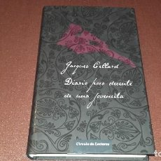 Libros antiguos: DIARIO POCO DECENTE DE UNA JOVENCITA JACQUES CELLARD CÍRCULO NOVELA ERÓTICA . Lote 103311947