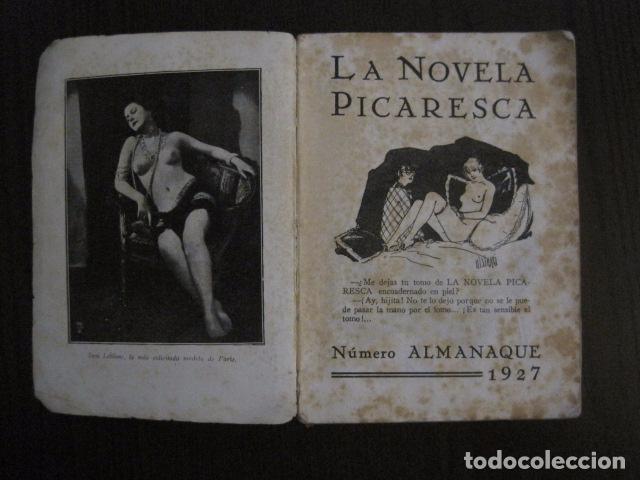 Libros antiguos: ALMANAQUE LA NOVELA PICARESCA - AÑO 1927 - EROTICA·MUY ILUSTRADO.-VER FOTOS -(V-12.702) - Foto 2 - 104067043