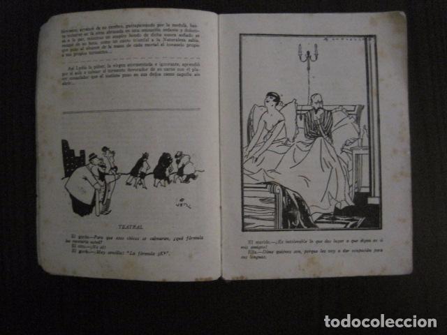Libros antiguos: ALMANAQUE LA NOVELA PICARESCA - AÑO 1927 - EROTICA·MUY ILUSTRADO.-VER FOTOS -(V-12.702) - Foto 3 - 104067043