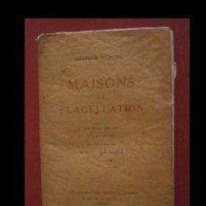 Livres anciens: MAISONS DE FLAGELLATION. DOCTEUR FOWLER. Lote 107113775