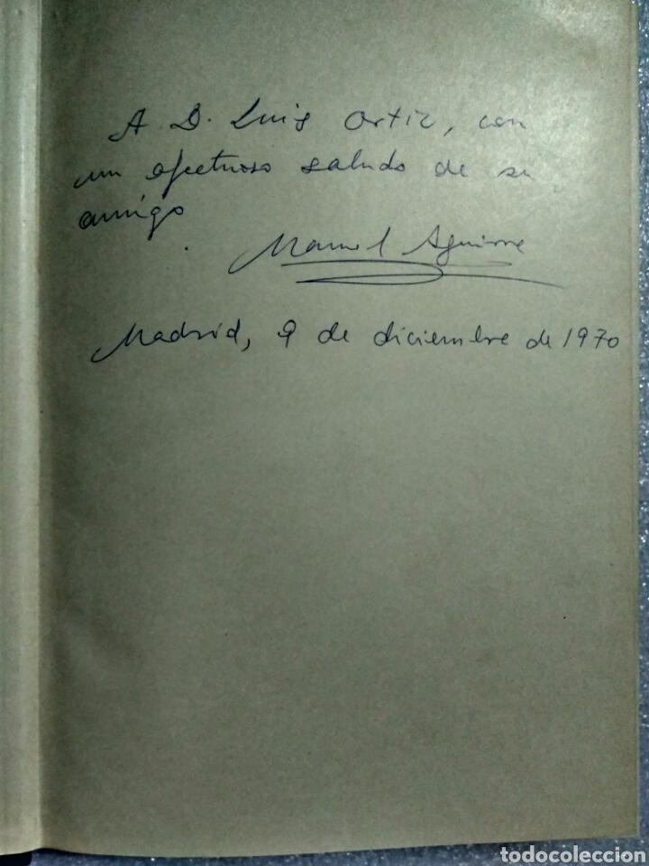 Libros antiguos: LA ESCRITURA EN EL MUNDO. MANUEL AGUIRRE. MADRID 1961. Primera edición. Firmado por el autor - Foto 3 - 107122964
