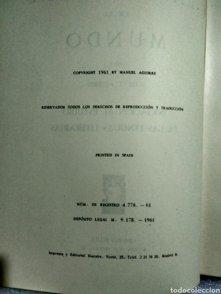 Libros antiguos: LA ESCRITURA EN EL MUNDO. MANUEL AGUIRRE. MADRID 1961. Primera edición. Firmado por el autor - Foto 5 - 107122964