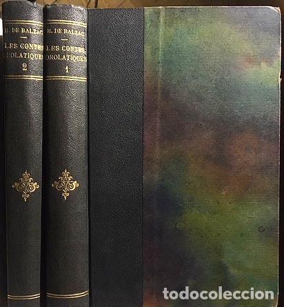 Libros antiguos: Balzac : Les contes drolatiques. (1902. Cuentos droláticos, ilustrados por Wagrez) (2 vol. - Foto 2 - 108327363