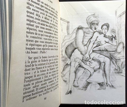 KLOSSOWSKI : ROBERTE CE SOIR. (ILLUSTRÉ PAR L´AUTEUR. MINUIT, 1959. TIRADA NUMERADA... ERÓTICA (Libros antiguos (hasta 1936), raros y curiosos - Literatura - Narrativa - Erótica)