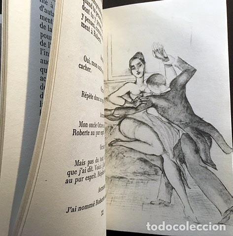 Libros antiguos: Klossowski : Roberte ce soir. (Illustré par l´Auteur. Minuit, 1959. Tirada numerada... Erótica - Foto 2 - 108379499
