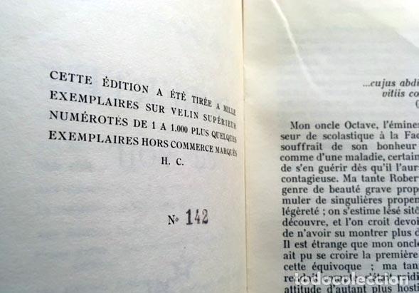 Libros antiguos: Klossowski : Roberte ce soir. (Illustré par l´Auteur. Minuit, 1959. Tirada numerada... Erótica - Foto 4 - 108379499