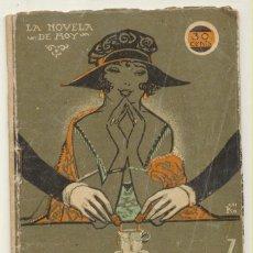 Libros antiguos: MIS MEMORIAS DE UNA NOCHE. J. BELDA. LA NOVELA DE HOY Nº 28. RIVADENEIRA 1922.. Lote 108751587