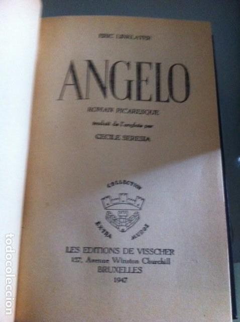 ANGELO. ERIK LINKLATER. ROMAN PICARESQUE. (Libros antiguos (hasta 1936), raros y curiosos - Literatura - Narrativa - Erótica)