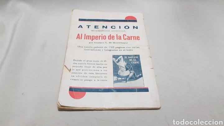 Libros antiguos: La novela picara . El abejorro de Roberto , por leopar . 25 cts . Numero 68 - Foto 3 - 113032131