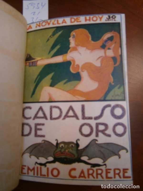 CARRERE: CADALSO DE ORO - EL VIAJE SIN RETORNO LOS CUATRO CABALLOS - LA VENGANZA... - GALANTE (Libros antiguos (hasta 1936), raros y curiosos - Literatura - Narrativa - Erótica)