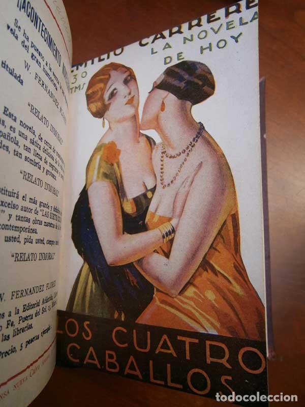 Libros antiguos: Carrere: Cadalso de Oro - El viaje sin retorno Los cuatro caballos - La venganza... - Galante - Foto 4 - 113403495
