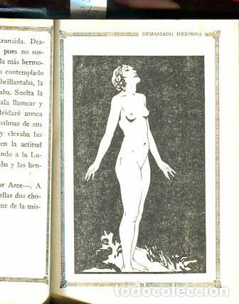 DEMASIADO HERMOSA - LA MALDITA CARNE - EROTICA - GALANTE - (Libros antiguos (hasta 1936), raros y curiosos - Literatura - Narrativa - Erótica)