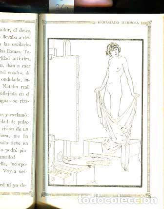 Libros antiguos: Demasiado hermosa - La maldita Carne - Erotica - Galante - - Foto 4 - 113620371