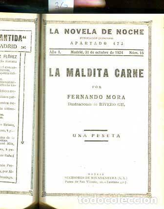 Libros antiguos: Demasiado hermosa - La maldita Carne - Erotica - Galante - - Foto 6 - 113620371