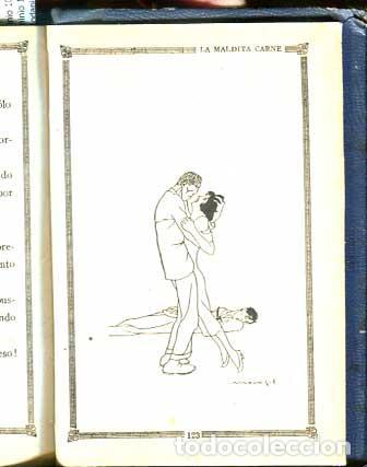 Libros antiguos: Demasiado hermosa - La maldita Carne - Erotica - Galante - - Foto 7 - 113620371