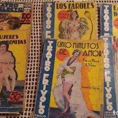 Libros antiguos: REVISTAS TEATRO FRIVOLO 27 NUMEROS. Lote 114017963