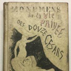 Libros antiguos: MONUMENS DE LA VIE PRIVÉE DES DOUZE CÉSARS, D'APRES UNE SUITE DE PIERRES GRAVÉES SOUS LEUR RÉGNE. -. Lote 114155171