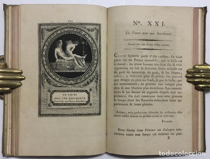Libros antiguos: MONUMENS DU CULTE SECRET DES DAMES ROMAINES, D'APRÈS UNE SUITE DE PIERRE GRAVÉES SOUS LEUR REGNE. - - Foto 7 - 114799446