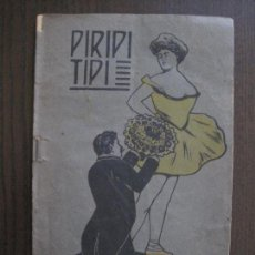 Libros antiguos: PIRIPITIPI - SEMANARIO FESTIVO - EROTICO SEGUNDA EPOCA -CUADERNO 4 -VER FOTOS - (V-14.025). Lote 116461775