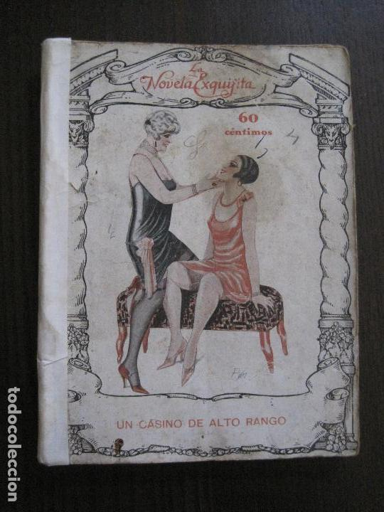 LA NOVELA EXQUISITA- UN CASINO DE ALTO RANGO - NUM 80 -VER FOTOS - (V-14.031) (Libros antiguos (hasta 1936), raros y curiosos - Literatura - Narrativa - Erótica)
