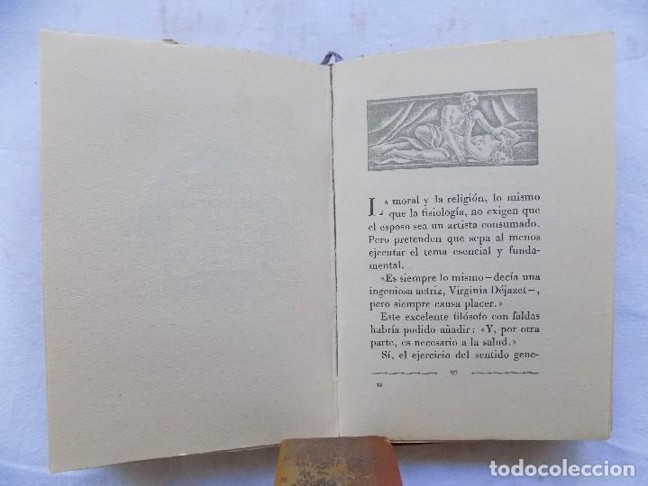 Libros antiguos: LIBRERIA GHOTICA. BREVIARIO DEL AMOR EXPERIMENTAL.1935. BELLA EDICION CON GRABADOS. 1ª EDICION. - Foto 4 - 116778415