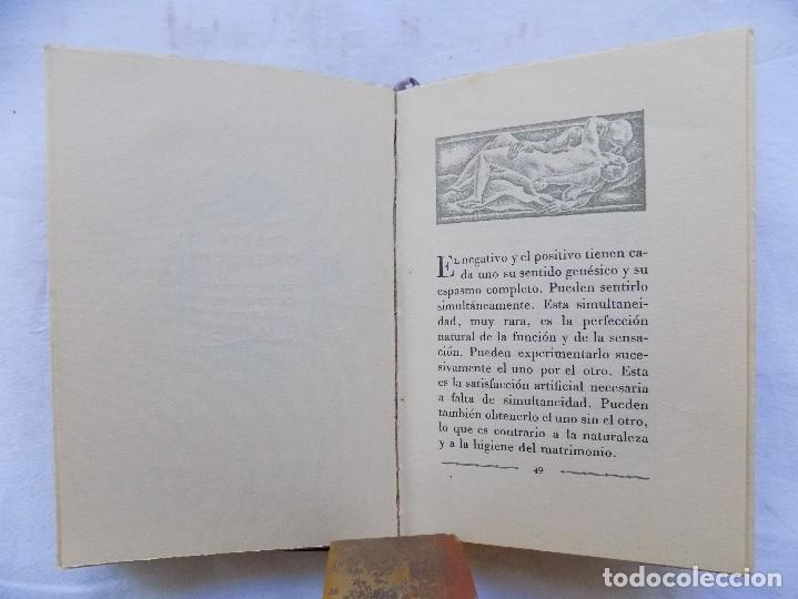 Libros antiguos: LIBRERIA GHOTICA. BREVIARIO DEL AMOR EXPERIMENTAL.1935. BELLA EDICION CON GRABADOS. 1ª EDICION. - Foto 5 - 116778415