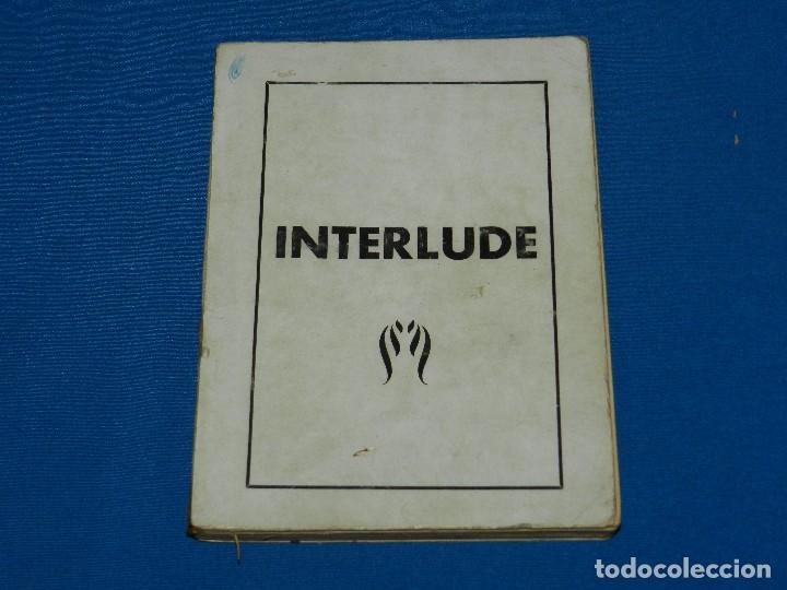 (MF) EROTICO - INTERLUDE , ILUSTRADO CON FOTOGRAFIAS EROTICO / PORNOGRAFICAS , IDIOMA FRANCES (Libros antiguos (hasta 1936), raros y curiosos - Literatura - Narrativa - Erótica)