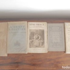 Libros antiguos: LOTE 11 LIBROS FRANCESES . ERÓTICA Y OTROS.. Lote 122223827