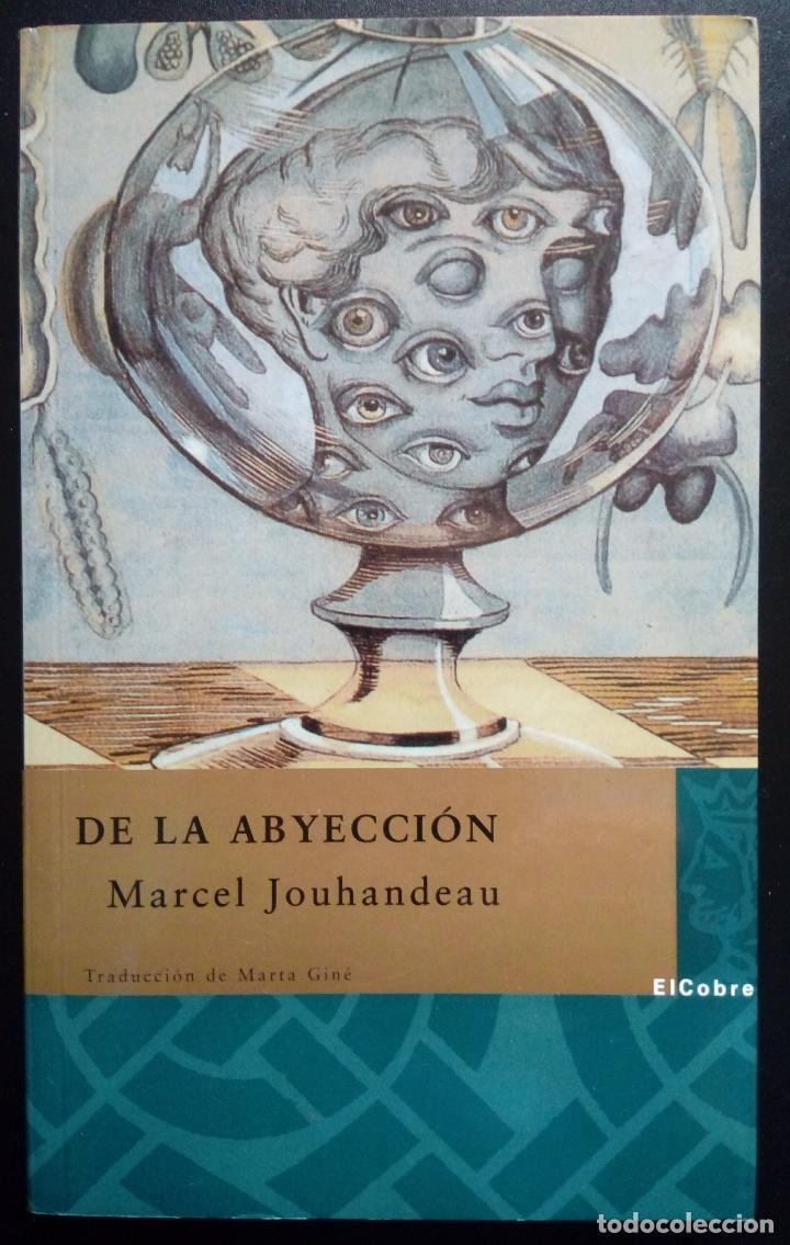 MARCEL JOUHANDEAU. DE LA ABYECCIÓN. (LITERATURA GAY ) (Libros antiguos (hasta 1936), raros y curiosos - Literatura - Narrativa - Erótica)
