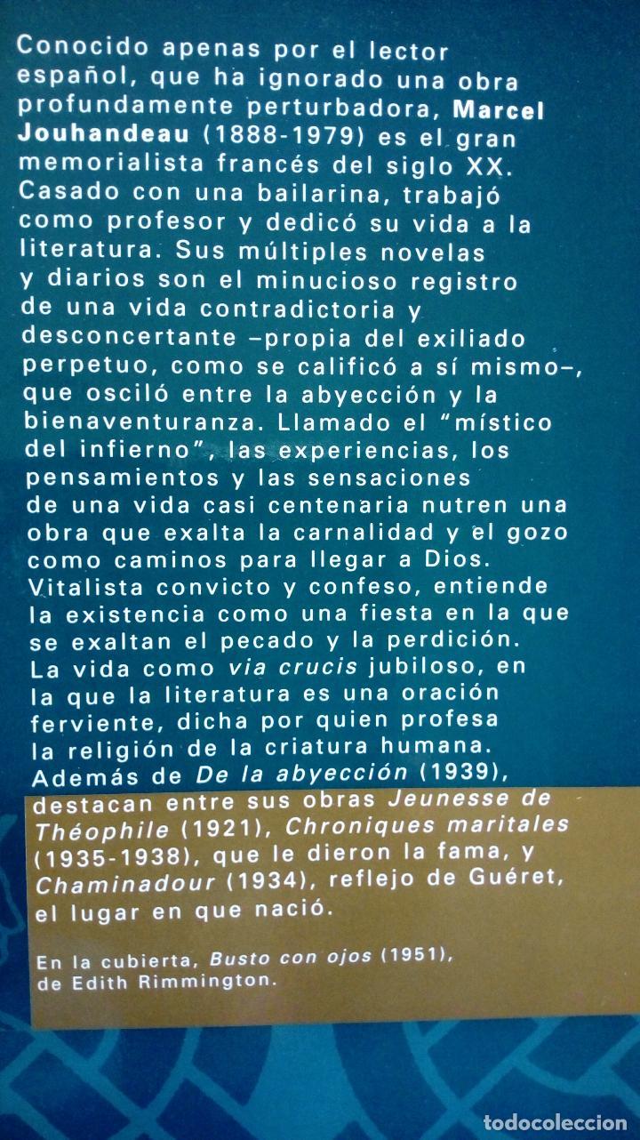 Libros antiguos: MARCEL JOUHANDEAU. DE LA ABYECCIÓN. (LITERATURA GAY ) - Foto 2 - 123419299