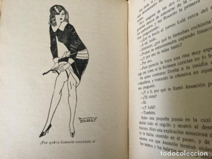 Libros antiguos: La niña que se untaba con azúcar, Renato Blay. 1926. La novela pasional - Foto 3 - 126672991