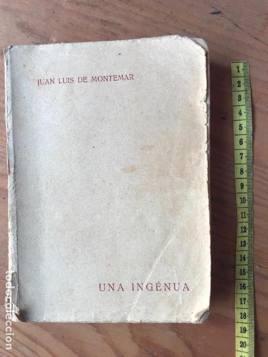 UNA INGÉNUA POR JUAN LUIS DE MONTEMAR. COLECCIÓN POMPADOUR VOL III. EDITORIAL CASTILLA 1921. DIFICI (Libros antiguos (hasta 1936), raros y curiosos - Literatura - Narrativa - Erótica)