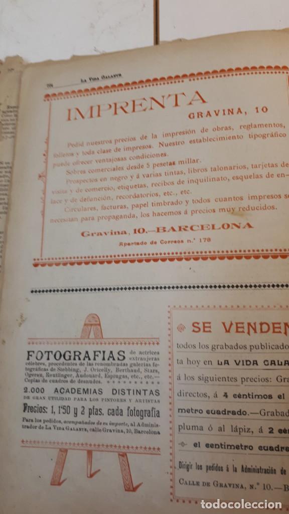Libros antiguos: Vida Galante y Vida Literaria. - Foto 8 - 132360118
