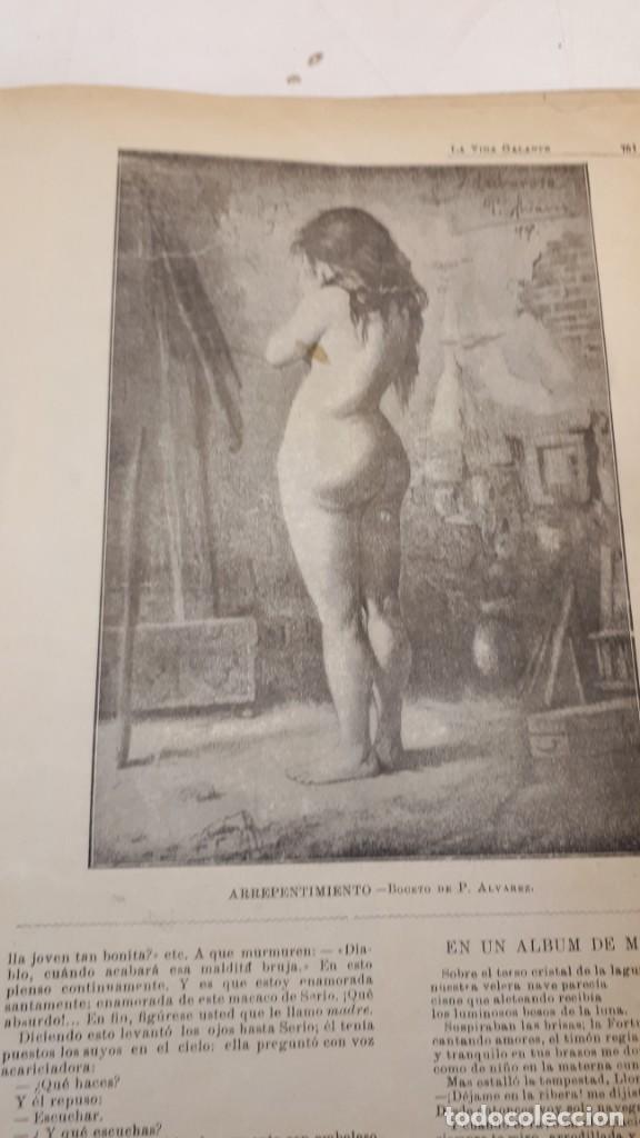 Libros antiguos: Vida Galante y Vida Literaria. - Foto 10 - 132360118