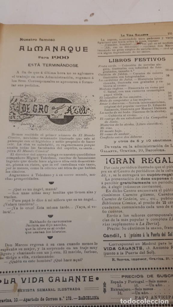 Libros antiguos: Vida Galante y Vida Literaria. - Foto 12 - 132360118