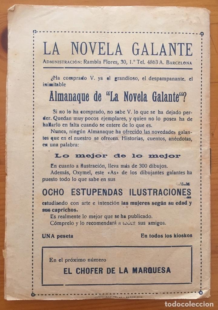 Libros antiguos: EROTISMO- LA NOVELA GALANTE- LAS VERDES Y LAS MADURAS- E. DORIGA - Foto 3 - 133324730