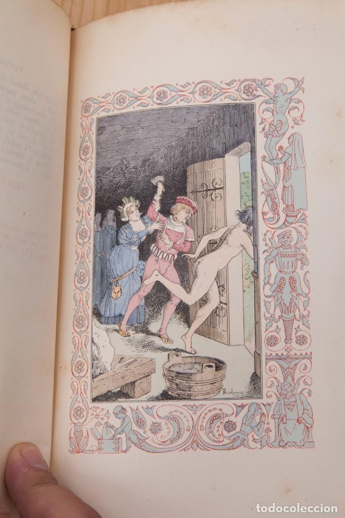 Libros antiguos: Giovanni Francesco Straparola and leon Lebegue - Les Facetieuses Nuits de Straparole - 1907 - erotis - Foto 11 - 135320602