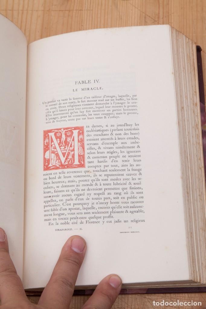 Libros antiguos: Giovanni Francesco Straparola and leon Lebegue - Les Facetieuses Nuits de Straparole - 1907 - erotis - Foto 12 - 135320602